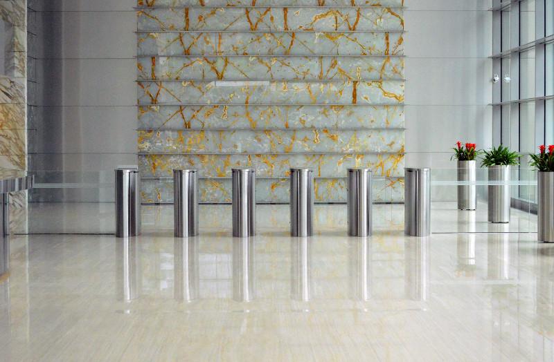 Cristallisation marbre - rénovation sol marbre